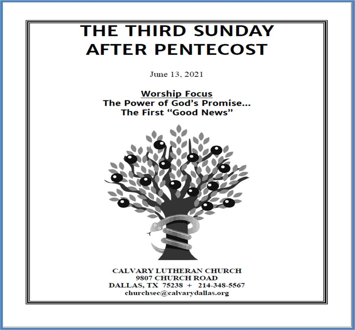 S.F.06.13.21.CS (full music and hymns PKRevisions) Third Sunday After Pentecost 2021)